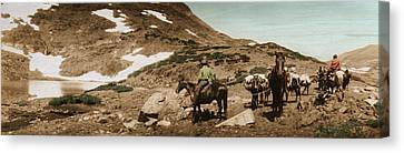 Trail Ride Two Canvas Print