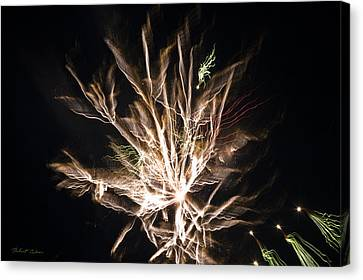 Canvas Print featuring the photograph Trails by Robert Culver