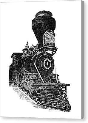 Train 3 Canvas Print
