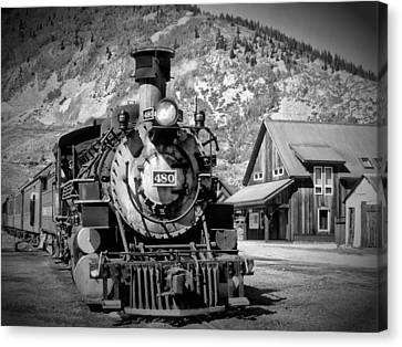 Train 480 Canvas Print