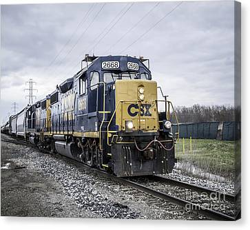 Train Engine 2668 Canvas Print