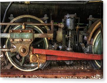 Train Wheels Canvas Print