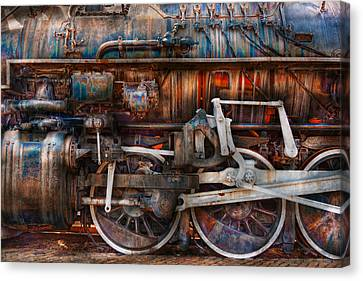 Train - With Age Comes Beauty  Canvas Print by Mike Savad