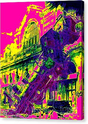 Train Wreck At Montparnasse Station 20130525 Canvas Print by Wingsdomain Art and Photography