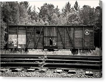 Trains Canvas Print by David Fox Photographer