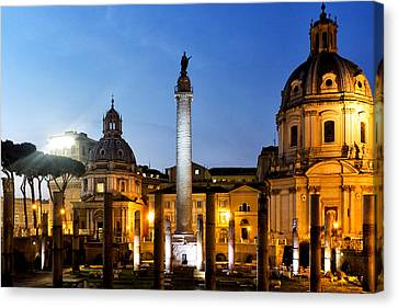 Trajan's Column Canvas Print by Fabrizio Troiani