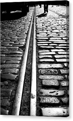 Tramway Canvas Print by Lesley Rigg