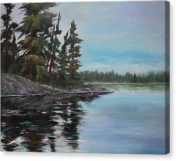Tranquil Bay Canvas Print