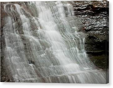 Canvas Print featuring the photograph Tranquil Falls by Haren Images- Kriss Haren