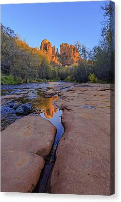 Tranquil Fire Canvas Print by Scott Campbell
