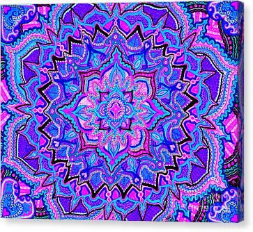 Tranquil Lotus Canvas Print