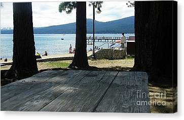 Canvas Print featuring the photograph Tranquil Moment by Bobbee Rickard
