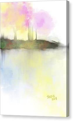 Tranquil Moments Canvas Print by Jessica Wright