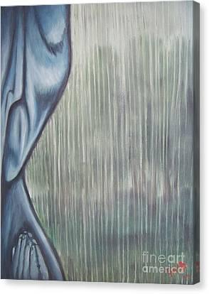 Tranquil Rain Canvas Print