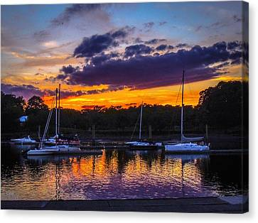 Canvas Print featuring the photograph Tranquil Waters by Glenn Feron
