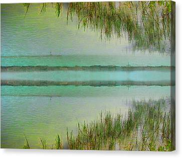 Tranquility Bay Canvas Print by Wendy J St Christopher