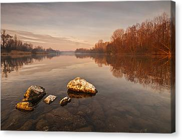 Tranquility Canvas Print by Davorin Mance