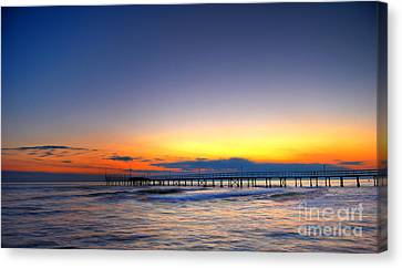 Canvas Print featuring the photograph Tranquility by Erhan OZBIYIK