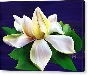 Canvas Print featuring the painting Tranquility by Laura Bell
