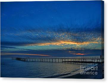 Sky Paint Canvas Print