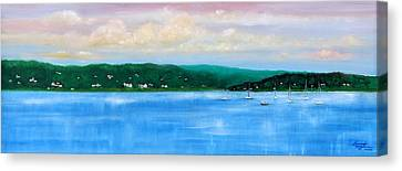 Tranquility On The Navesink River Canvas Print