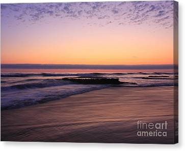 Canvas Print featuring the photograph Swamis Tranquility Reef by John F Tsumas