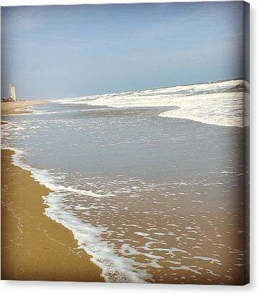 Canvas Print featuring the photograph Tranquility by Thomasina Durkay