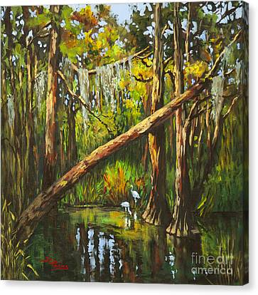Canvas Print featuring the painting Tranquillity by Dianne Parks