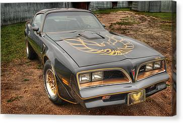 Trans Am 2 Canvas Print by Thomas Young