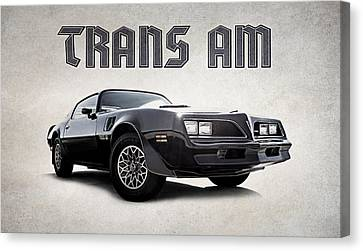 Trans Am Canvas Print