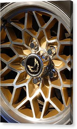 Trans-am Snowflake Wheel Canvas Print by Gordon Dean II