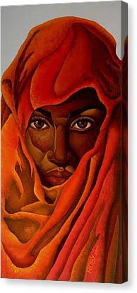 Transcendental Nubian Canvas Print