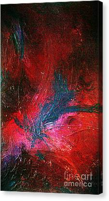 Canvas Print featuring the painting Transformation by Jacqueline McReynolds