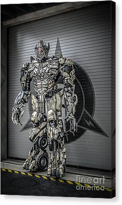 Transformer At Nest Canvas Print by Edward Fielding