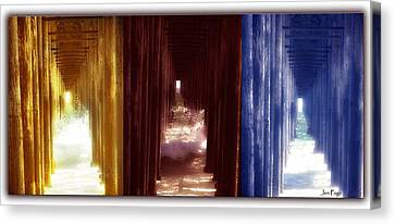 Transforming Waters  Orginal Piece Canvas Print