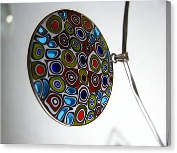 Translucent Millefiori Canvas Print