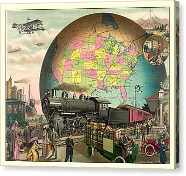Transportation Canvas Print by Gary Grayson