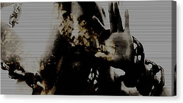 Canvas Print featuring the photograph Trapped Inside by Jessica Shelton
