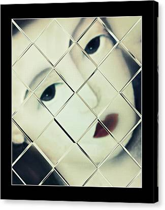 Trapped Canvas Print by Susan Leggett