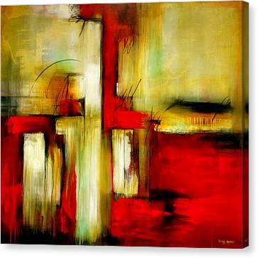 Traspasando Canvas Print by Thelma Zambrano