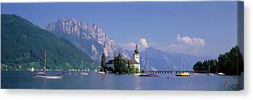 Traunsee Lake Gmunden Austria Canvas Print by Panoramic Images
