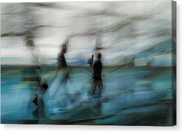 Canvas Print featuring the photograph Travel Blues by Alex Lapidus