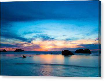 Traveling The Infinite Canvas Print