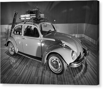 Traveller's Super Beetle 001 Bw Canvas Print by Lance Vaughn