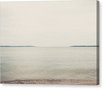Traverse Bay Canvas Print by Elle Moss