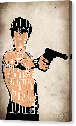 Travis Bickle - Robert De Niro Canvas Print