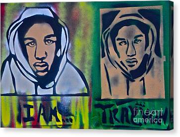 Trayvon Martin Canvas Print by Tony B Conscious