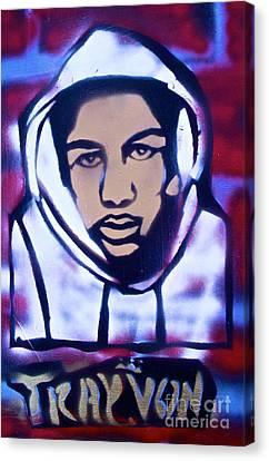 Trayvon's America Canvas Print by Tony B Conscious