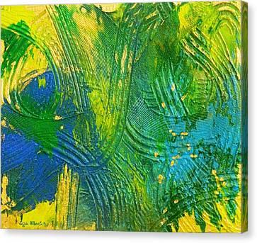Treasure Hunting Tales Canvas Print by Liza Wheeler