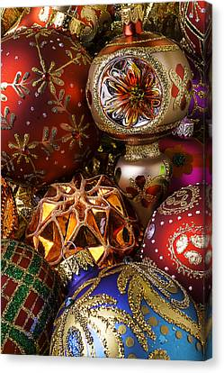 Treasured Ornaments Canvas Print by Garry Gay
